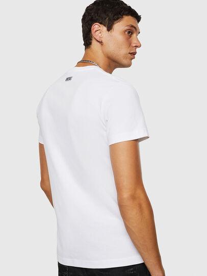 Diesel - T-DIEGO-B18, White - T-Shirts - Image 2