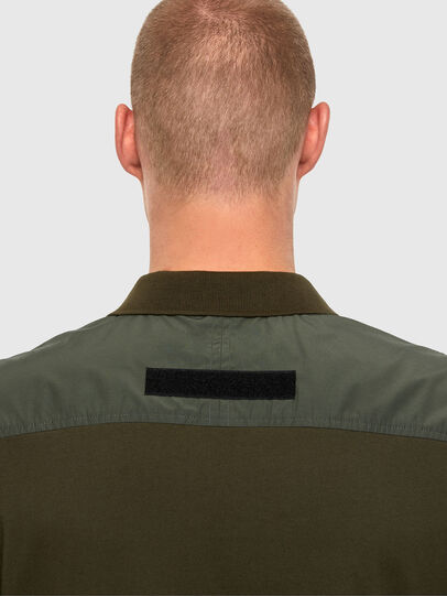 Diesel - T-HARLY, Military Green - Polos - Image 3