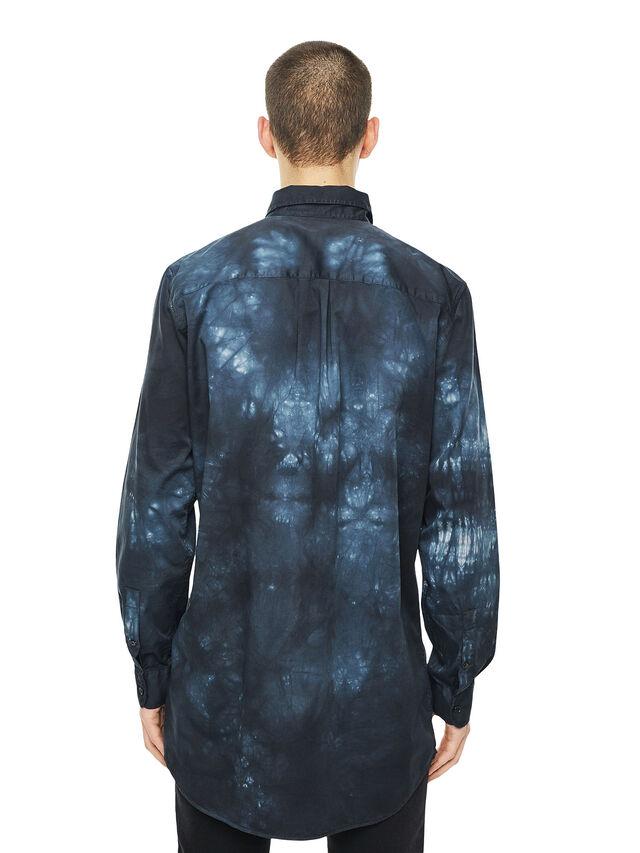Diesel - SAMOUT, Black/Blue - Shirts - Image 2