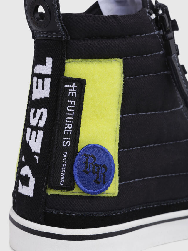 Diesel - D-VELOWS MID PATCH, Black - Sneakers - Image 4