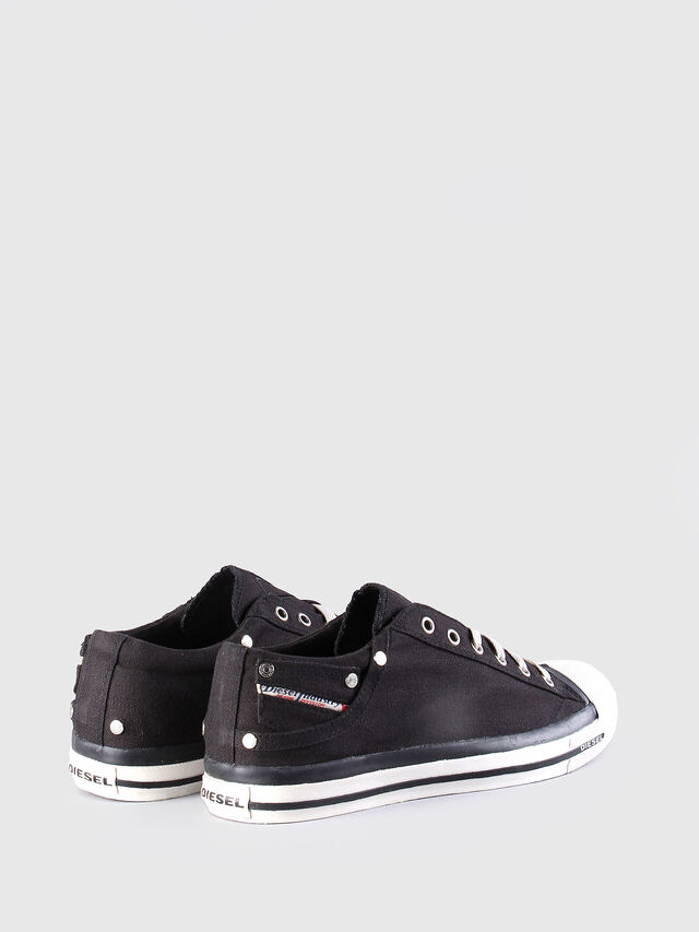 Diesel - EXPOSURE LOW, Black - Sneakers - Image 3