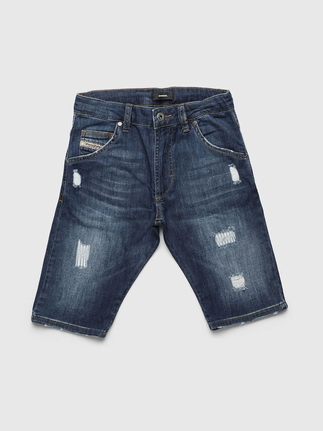 Diesel - PROOLI NEW-CUT SH, Medium blue - Pants - Image 1