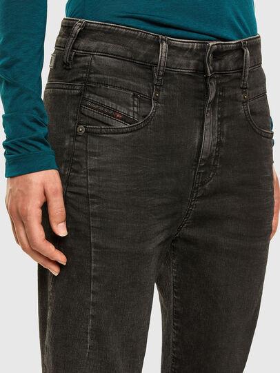 Diesel - FAYZA JoggJeans® 009HM, Black/Dark grey - Jeans - Image 3