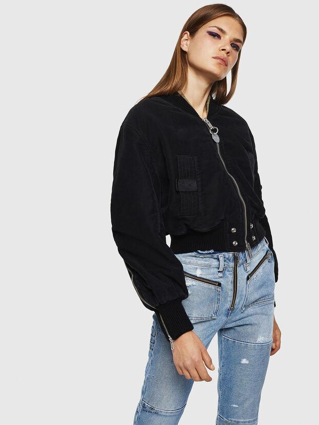 W-LESKY, Black - Winter Jackets