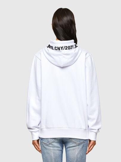 Diesel - CL-S-GIRK-HOOD-O, White - Sweaters - Image 4