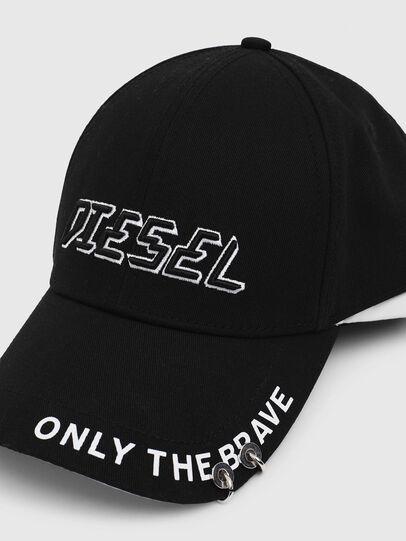 Diesel - CEDOUBLE, Black/White - Caps - Image 3