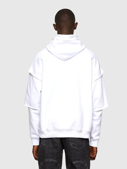 Diesel - S-UBBER-A1, White - Sweaters - Image 2