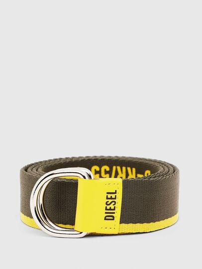 Diesel - B-TAPE55, Black/Yellow - Belts - Image 1