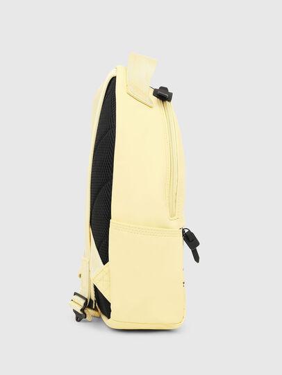 Diesel - F-BOLD BACK FL, Light Yellow - Backpacks - Image 3