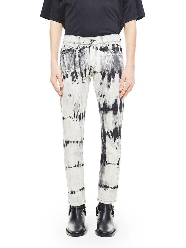 Diesel - TYPE-2813FS, White/Black - Jeans - Image 1