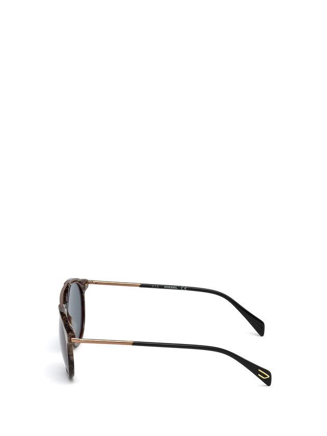 Diesel DM0188, Brown - Eyewear - Image 3
