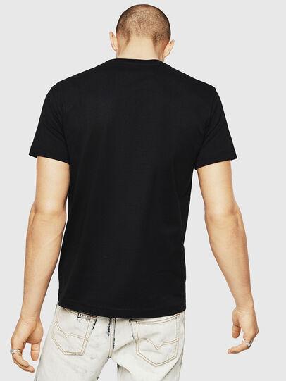 Diesel - T-DIEGO-A7, Black - T-Shirts - Image 2