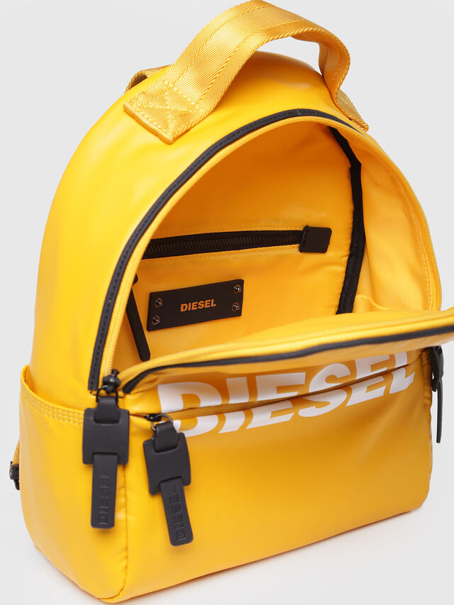 Diesel - F-BOLD BACK FL, Yellow - Backpacks - Image 3
