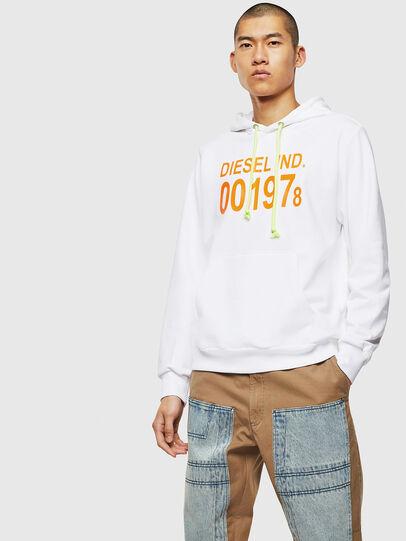 Diesel - S-GIRK-HOOD, White - Sweaters - Image 1