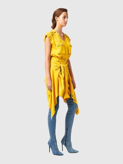 Diesel - D-GIUDITTA, Yellow - Dresses - Image 4