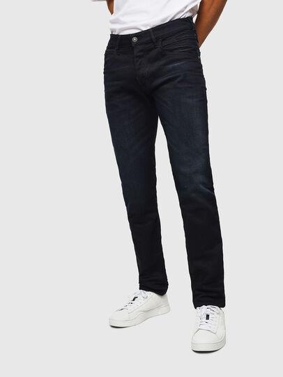 Diesel - D-Bazer 084AY, Dark Blue - Jeans - Image 1