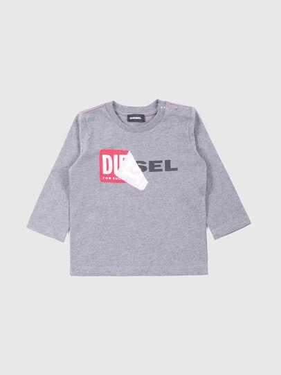 Diesel - TOQUEB, Grey - T-shirts and Tops - Image 1