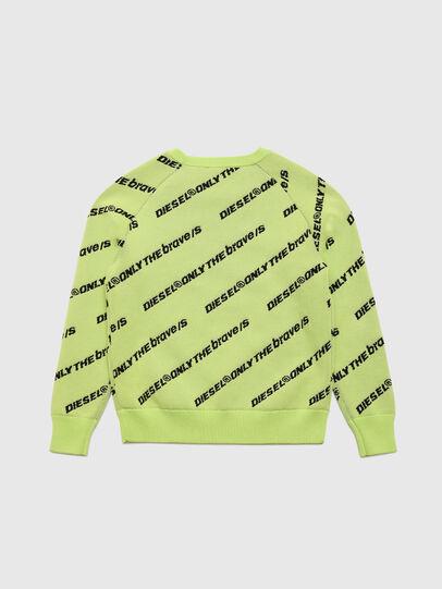 Diesel - KDAVIS, Green Fluo - Knitwear - Image 2