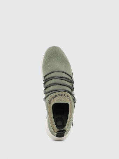 Diesel - S-KB SLG, Olive Green - Sneakers - Image 5