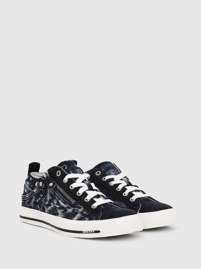 Diesel - EXPO-ZIP LOW W, Dark Blue - Sneakers - Image 2