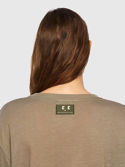 Diesel - T-ENKA-C.C, Light Brown - T-Shirts - Image 3