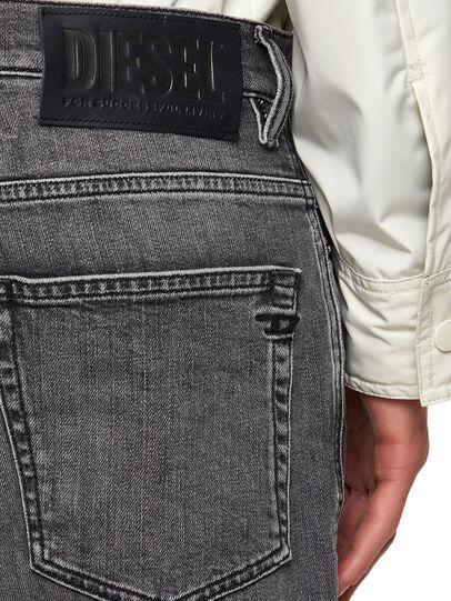 Diesel - D-Fining 09A11, Black/Dark grey - Jeans - Image 4