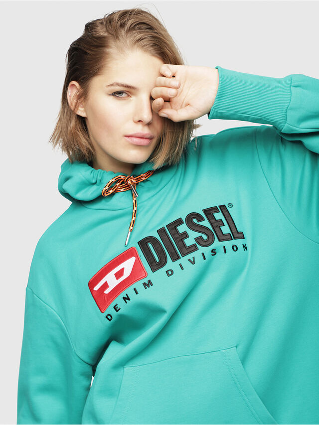 Diesel - D-ILSE-C, Water Green - Dresses - Image 4