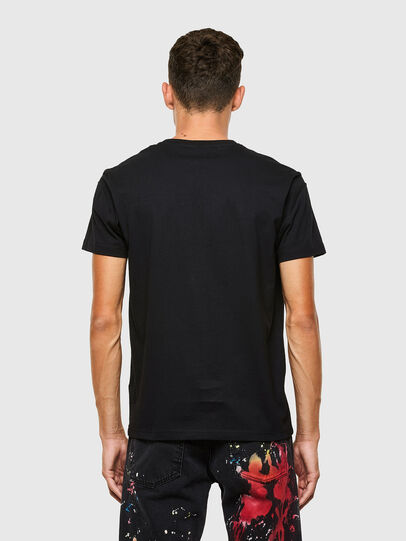 Diesel - T-DORYMO-A1, Black - T-Shirts - Image 2