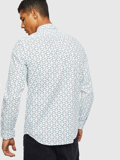 Diesel - S-CLES-D, White - Shirts - Image 2