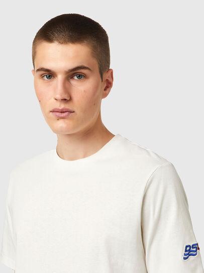 Diesel - T-JUST-B67, White - T-Shirts - Image 3