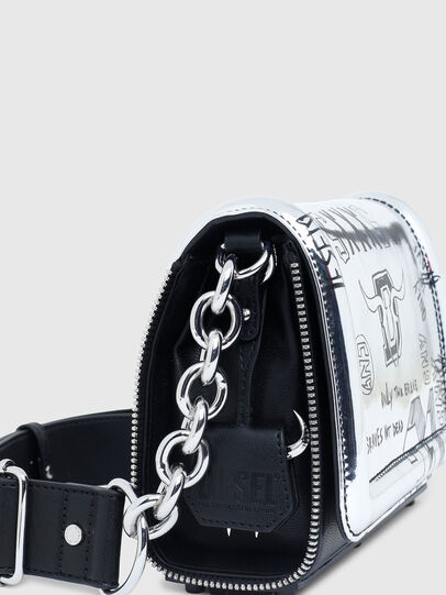 Diesel - CL - YBYS S CNY, Silver - Crossbody Bags - Image 5