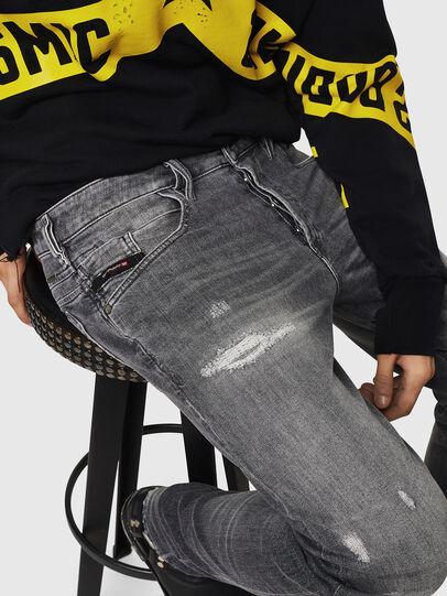 Diesel - D-Bazer 0890F, Light Grey - Jeans - Image 3