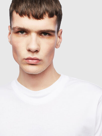 Diesel - T-HUSTY-LS, White - T-Shirts - Image 5