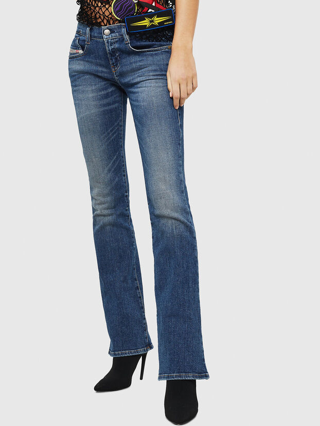 D-Ebbey 082AB, Dark Blue - Jeans