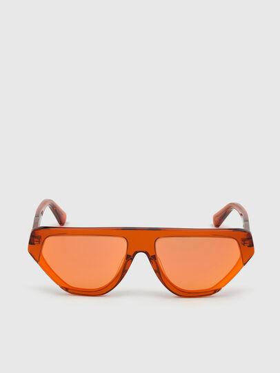 Diesel - DL0322, Orange - Sunglasses - Image 1