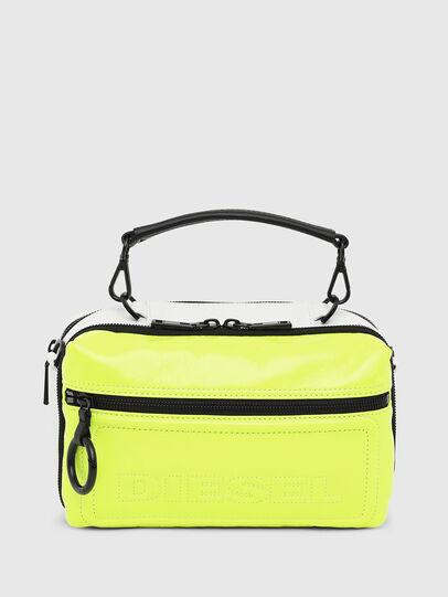Diesel - FUTURAH, Yellow Fluo - Crossbody Bags - Image 1