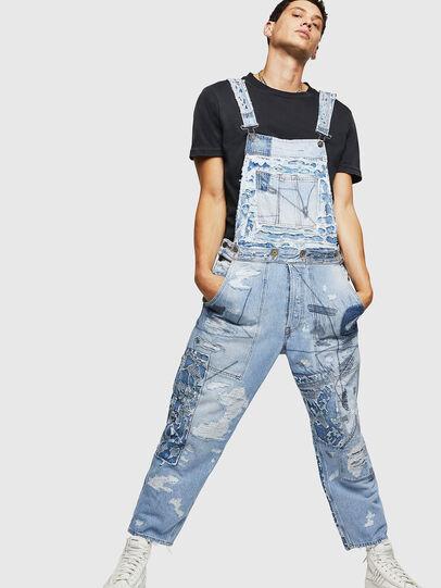 Diesel - D-HARU-SY, Blue Jeans - Jumpsuits - Image 1