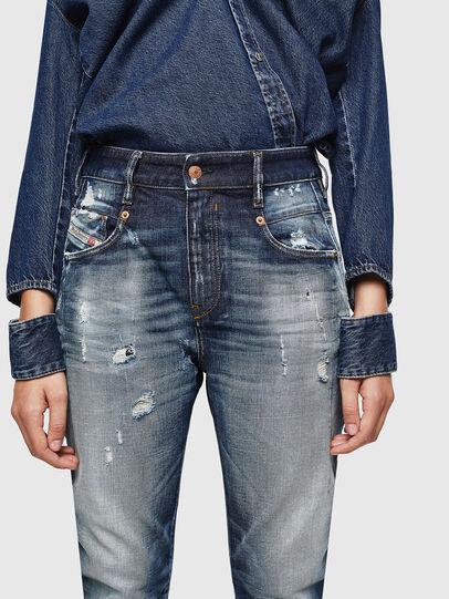 Diesel - Fayza 0092I, Dark Blue - Jeans - Image 3