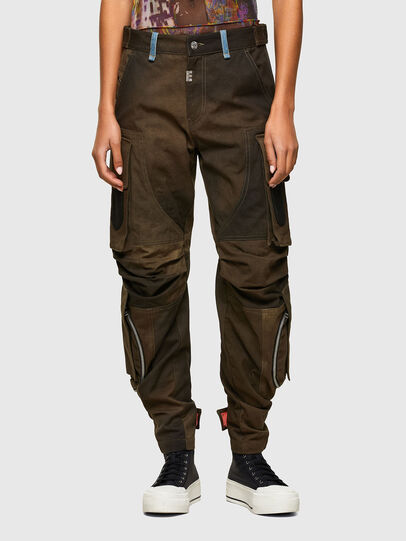 Diesel - P-JANE, Military Green - Pants - Image 1