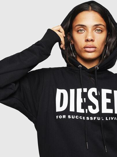 Diesel - F-GIR-HOOD-DIV-LOGO-,  - Sweaters - Image 5