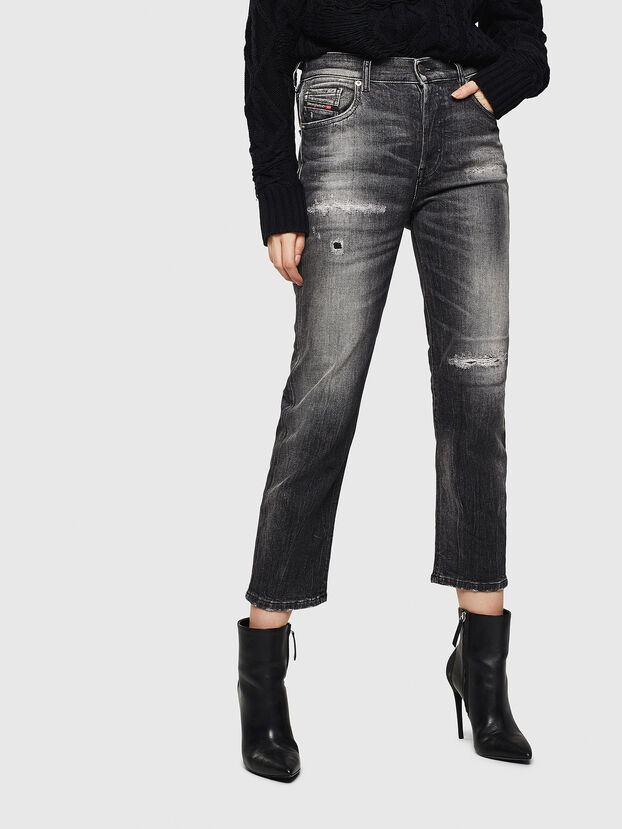 Aryel 0095J, Black/Dark grey - Jeans