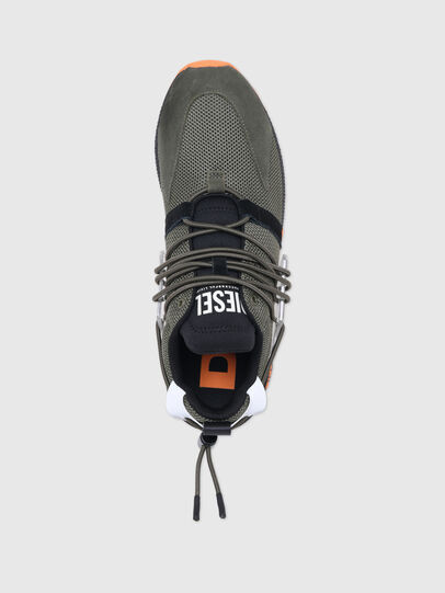 Diesel - S-KB UP LACE, Military Green - Sneakers - Image 5