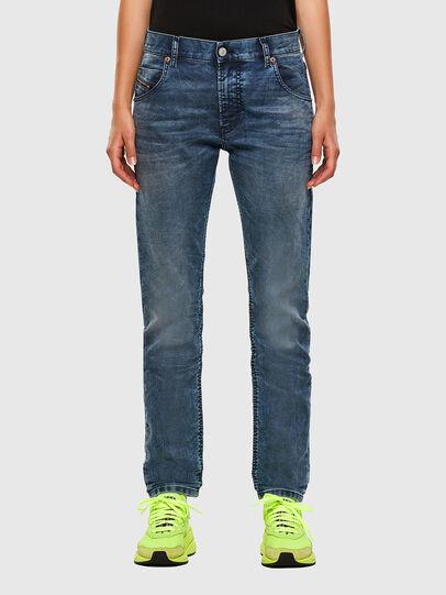 Diesel - Krailey JoggJeans 069NZ, Medium blue - Jeans - Image 1