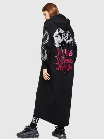 Diesel - D-ILSE-TWIST-A, Black - Dresses - Image 2