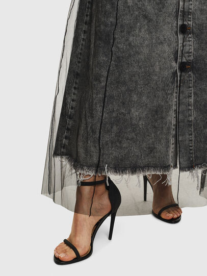 Diesel - O-MARGY, Black - Skirts - Image 5