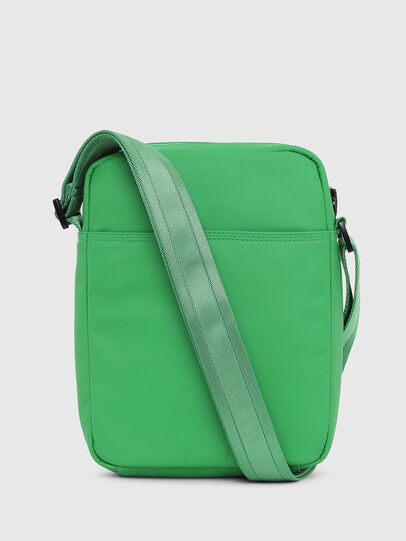 Diesel - F-BOLD SMALL CROSS, Green - Crossbody Bags - Image 2