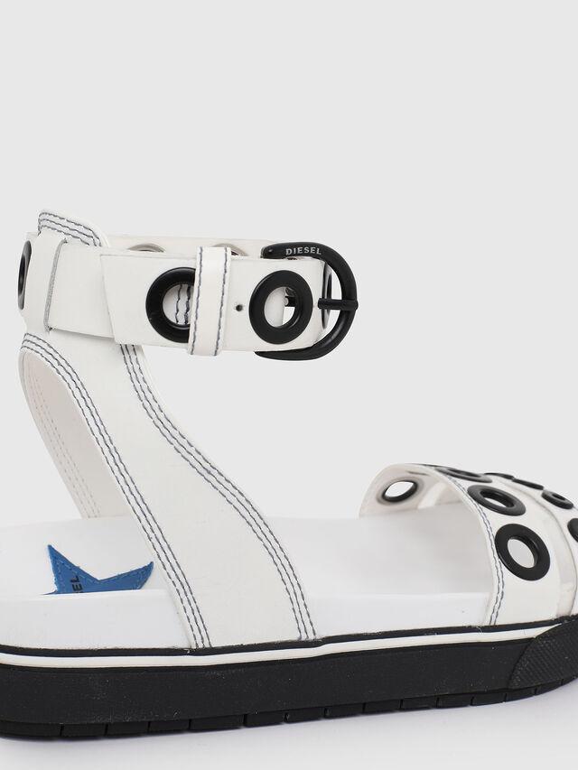 Diesel - SA-GRAND LCE, White/Black - Sandals - Image 4