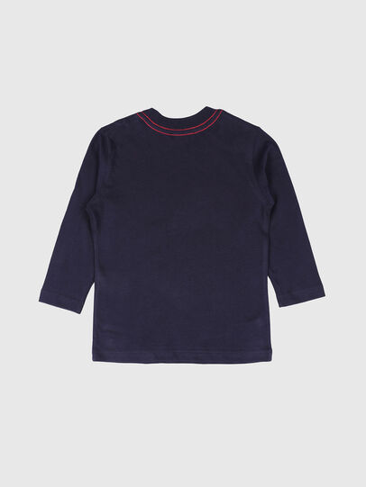 Diesel - TOQUEB-R, Navy Blue - T-shirts and Tops - Image 2