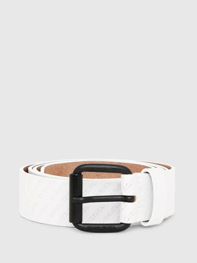 Diesel - B-SOLESINO, White - Belts - Image 1