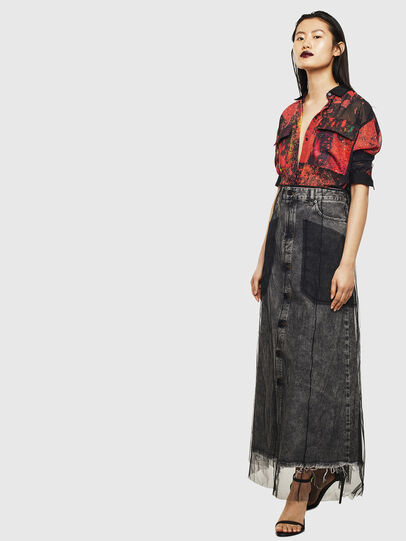 Diesel - O-MARGY, Black - Skirts - Image 7